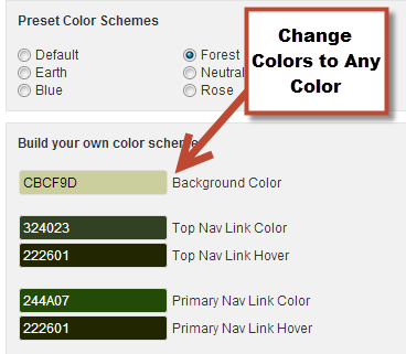 Socrates Reviews - how to change theme colors